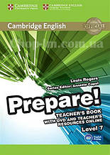 Cambridge English Prepare! 7 Teacher's Book with DVD and Teacher's Resources Online / Книга для учителя