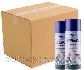 """Спортивна заморожування-охолоджуючий спрей """"ICEMIX"""" 400 мл (Упаковка 24 шт) (Польща)"""