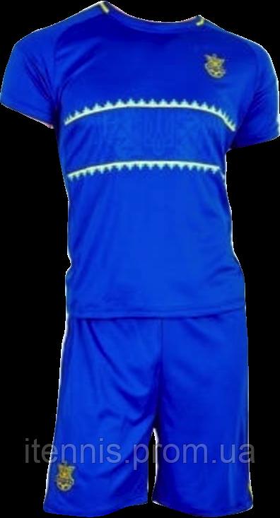 Форма футбольная Украина  (XS-S-M-L-XL) синяя NEW!