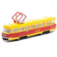 Модель трамвай BIG Технопарк SB-17-18WB, фото 1