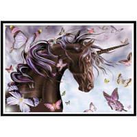 NAIYUE X050 Бабочка Лошадь Животная Печать Ничья 5D Алмазная живопись Алмазная вышивка