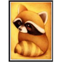 NAIYUE 8530 Raccoon Animal Print Draw 5D Diamond Painting Алмазная вышивка