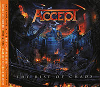 CD 'Accept -2017- The Rise Of Chaos'