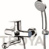 Смеситель для ванны короткий гусак TROYA FOB3-A134