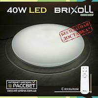 Потолочный светодиодный светильник с пультом BRIXOLL BRX-40W-023 (Smart Light Shiny) 3000Lm