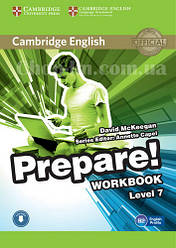 Cambridge English Prepare! 7 Workbook with Downloadable Audio / Рабочая тетрадь