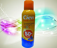 Cien SUN KIDS Sonnenspray LSF50 Солнцезащитный аерозольный спрей для детей SPF50 (Германия) 250мл.