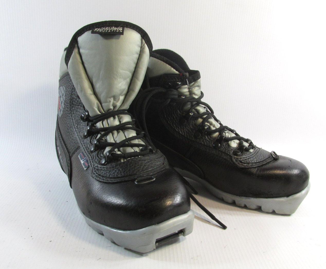 Ботинки лыжные ALPINA 125 NNN, кожа, Утепленные, 35, Отл сост!