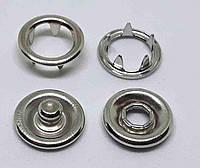 Кнопка BABY 9,5 никель ( в упаковки 50 штук )