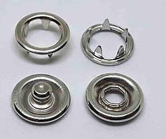 Кнопка BABY 7,5 никель ( в упаковки 1440 штук )
