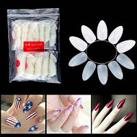 XM Durable Full Cover False Nails 600PCS Бежевый белый
