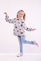 Туника Детская « Бабочки » Ангоровая , фото 1
