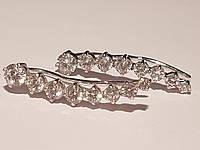 Серебряные серьги-каффы. Артикул 902-00924
