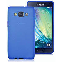 TPU накладка для Samsung Galaxy A7 Duos A700H/DS Blue