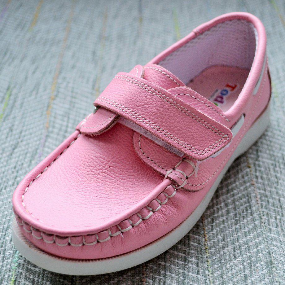 Рожеві мокасини дівчинка, Toddler розмір 30-20 см