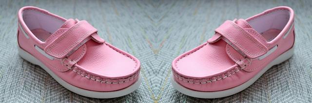 Рожеві мокасини для дівчинки Туреччина фото