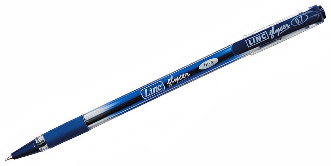 """Ручка кулькова масляна """"Glyser"""" синя 0,7 мм Linc 410971"""
