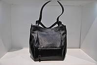 Модная кожаная женская сумка 0060-1139