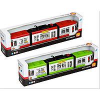 Городской трамвай инерционный Big Motors 1258, фото 1