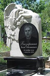 Памятник спящий ангел из известняка