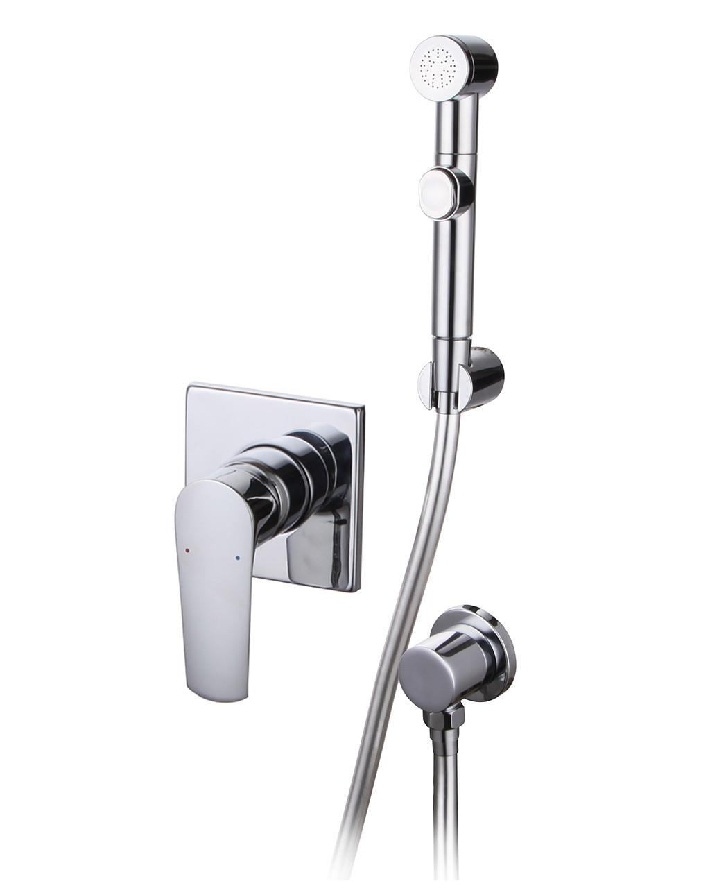 VYSKOV набор (смеситель скрытого монтажа с гигиеническим душем, шланг полимер)