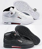 Мужские кроссовки Fila Heritage Fx-100 High White&Black