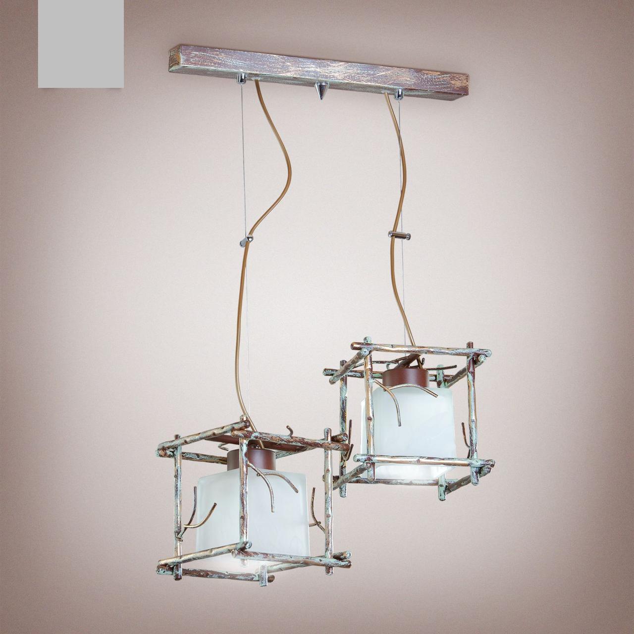 Люстра 2-х ламповая, подвес 16702