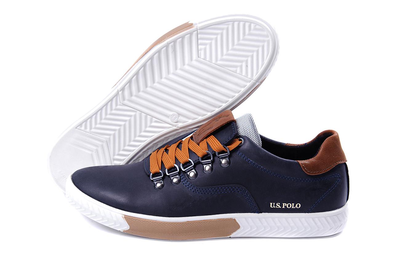 2ce609f2c806 Мужские кожаные кеды Polo Ralph Lauren - Интернет Магазин - мужской обуви
