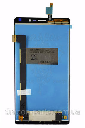 Дисплей (экран) Nomi i6030 Note X с сенсором Черный Black, оригинал, фото 2