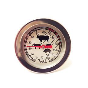 Термометр біметалічний для харчових продуктів 0...+120°C, фото 2