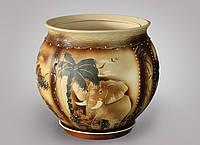 Горшок цветочный керамический Тюльпан 10 л
