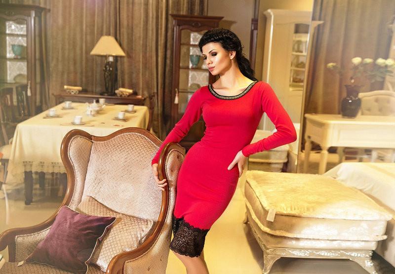 8fc854f55cd04ad Платье с кружевом - All You Need - прямой поставщик женской одежды оптом и в  розницу