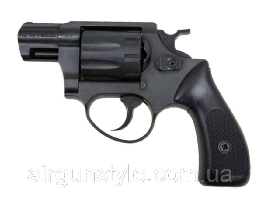 Револьвер під патрон Флобера Cuno Melcher-ME 38 Pocket 4R (чорний, пластик)