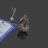 Серебряная подвеска Палитра