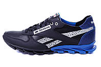 Мужские кожаные кроссовки Reebok (реплика), фото 1