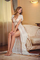 Вау! Нежное Будуарное платье для Фотосессии беременной №01
