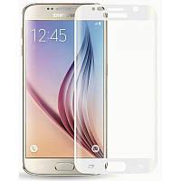 Защитное стекло для Samsung Galaxy S6 Edge G925 White