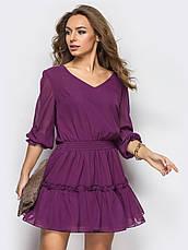 Повітряне шифонове плаття, фото 3