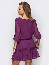 Повітряне шифонове плаття, фото 2