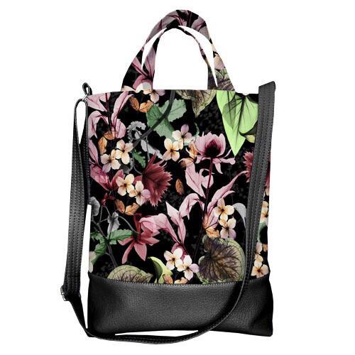 Жіноча сумка з короткою та довгою ручкою