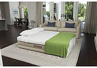 Велюр кровать BESTWAY 69011 со встроенным насосом и подголовником