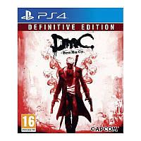 Игра DmC Devil May Cry: Definitive Edition для Sony PS 4 (русские субтитры)