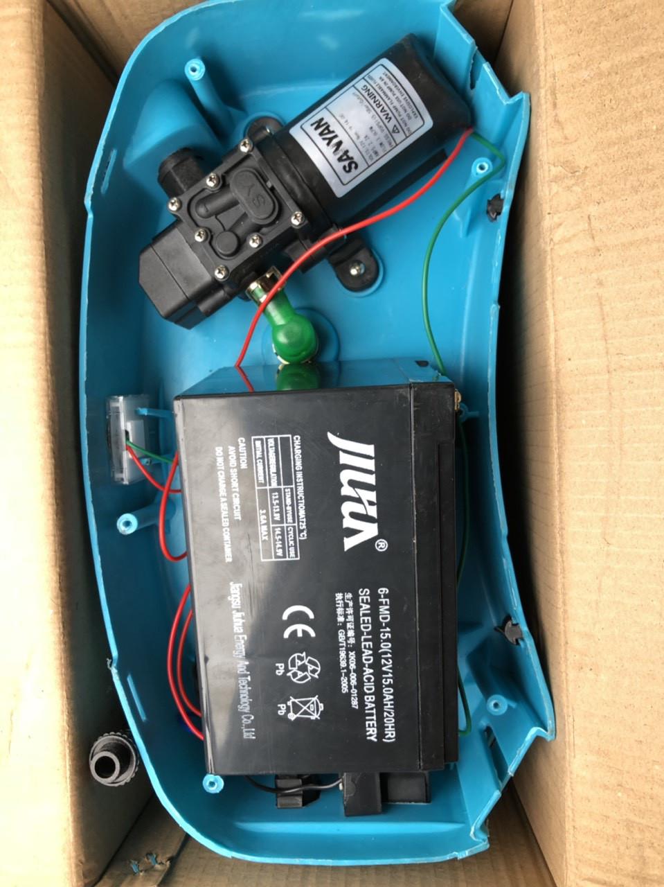 Опрыскиватель аккумуляторный AL-FA 12 ампер (16 л) 10