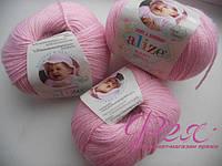 Пряжа детская Alize Baby Wool ( Ализе Беби Вул ) №185