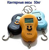 Кантер электронный цифровой весы до 50 кг TE015