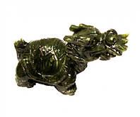 Статуэтка драконья черепаха (нефрит)
