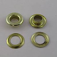 Люверс (Блочка) №1 D3мм 5000шт Золото
