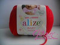 Пряжа  Alize Baby Wool (  Ализе Беби Вул ) №56