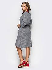 Модне повсякденне плаття - сорочка, фото 3