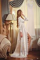 Будуарное платье №02 (для невесты, для фотосессии беременной)